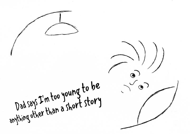An original Nad Dad cartoon
